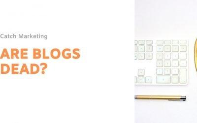 Are blogs dead?