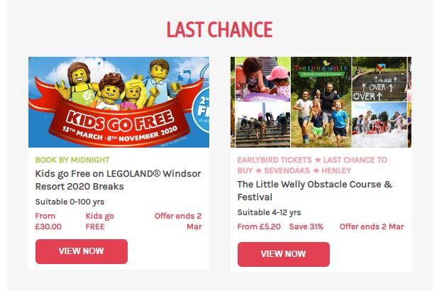 Littlebird email content maketing example