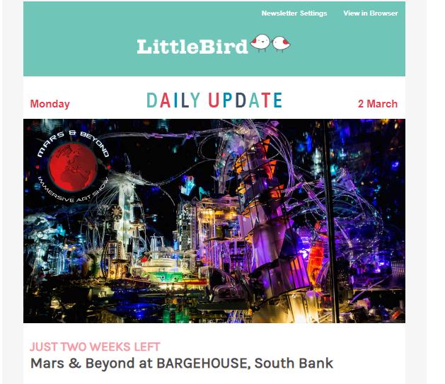 Littlebird content marketing example