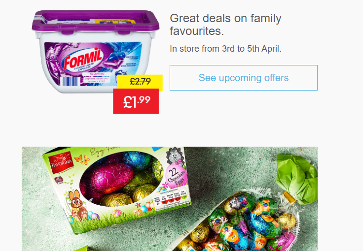 Lidl email example