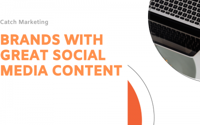 Brands with great social media content during Covid