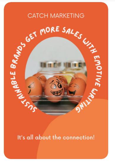 Catch marketing Canva pin